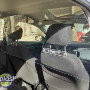 Proteção acrílica para motoristas (feita sob medida)