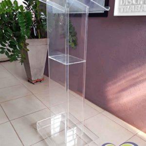 Púlpito em acrílico - Modelo BPP001